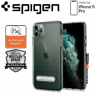 Spigen Slim Armor Essential S for iPhone 11 Pro ( Crystal Clear ) ( Barcode: 8809640259463 )
