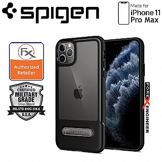 Spigen Slim Armor Essential S for iPhone 11 Pro Max ( Black ) ( Barcode: 8809671016479 )