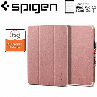 Spigen Case Urban Fit for iPad Pro 11 inch ( 2020 ) 2nd Gen - Rose Gold ( Barcode : 8809685629924 )