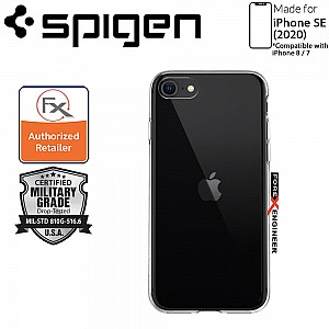 Spigen Crystal Flex for iPhone SE 2nd Gen ( 2020 ) Compatible with iPhone 8 / 7 - Crystal Clear Color ( Barcode: ACS00882 )