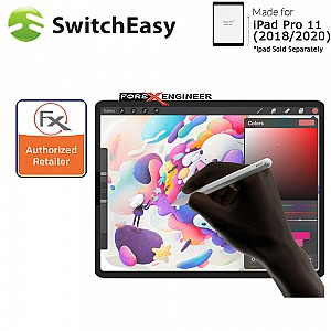 """Switcheasy Paperlike for iPad Pro 11"""" / iPad Air 10.9"""" (2021-2018) - Screen Protector Clear Color ( Barcode :  4897094562394 )"""
