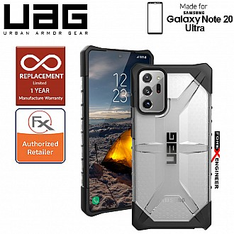 UAG Plasma for Samsung Galaxy Note 20 Ultra 5G 2020 - Rugged Military Drop Tested ( Ice ) ( Barcode : 812451035629 )