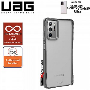 UAG Plyo for Samsung Galaxy Note 20 Ultra 5G 2020 - Rugged Military Drop Tested ( Ice ) ( Barcode : 812451036442 )