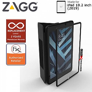 "ZAGG Rugged Messenger Case for iPad 10.2 inch / 10.2"" (7th Gen) with The snap-on screen protector ( Black ) ( Barcode : 840056113213 )"
