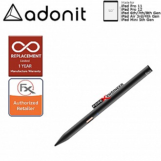 Adonit Note 2 Stylust Pen for latest iPad / I Pad Pro - Almost same with Apple Pencil - Black ( Barcode : 847663023645 )