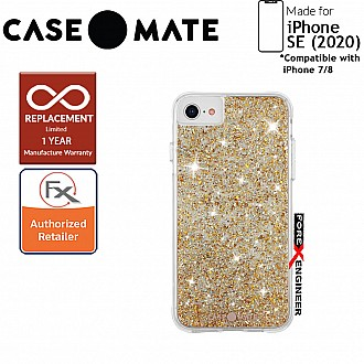 Case Mate Twinkle for iPhone SE (2020) compatible with iPhone 8 / 7  - Stardust ( Barcode: 846127193306 )