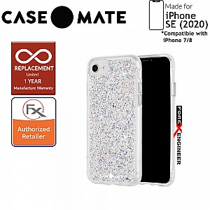 Case Mate Twinkle for iPhone SE (2020) compatible with iPhone 8 / 7  - Stardust ( Barcode: 846127193306 )[RACK CLEARANCE]