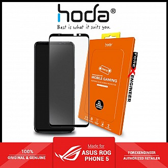Hoda Tempered Glass for ASUS Rog Phone 5 / 5 Pro / 5 Ultimate ( Anti - Glare ) - 2.5D 0.33mm Full Coverage Tempered Glass Screen Protector (ZS673KS) - Matte  ( Barcode : 4711103540695 )