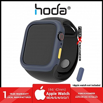 Hoda Rough Case for Apple Watch Series SE / 6 / 5 / 4  / 3 / 2 / 1(42/44mm) -  Blue (Barcode : 4713381517574 )