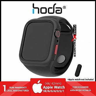 Hoda Rough Case for Apple Watch Series SE / 6 / 5 / 4 / 3 / 2 / 1  (42/44mm) - Black (Barcode : 4713381517550 )