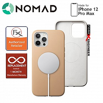 """Nomad Rugged Case for iPhone 12 Pro Max 5G 6.7"""" Case - Magsafe and 5G Compatible - Natural ( Barcode: 856500019734 )"""