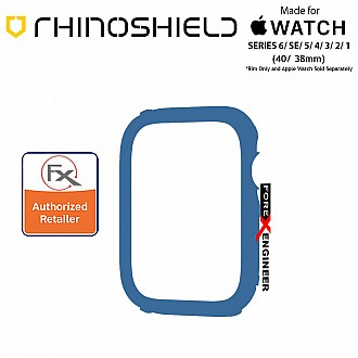 Rhinoshield RIM for Apple Watch 40mm / 38mm Series 6 / SE / 5 / 4 / 3 / 2 / 1 - Use with Rhinoshield CrashGuard NX - Royal Blue (Barcode: 4710562402018)