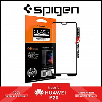 Spigen GlASt R Slim Premium Tempered Glass Screen Protector for Huawei P20 - Clear ( Barcode : 8809565307348 )