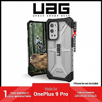 UAG Plasma for OnePlus 9 Pro - Feather-Light Rugged Military Drop Tested - Ice ( Barcode :  810070360719 )