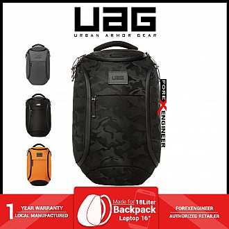 """UAG The Standard Issue 18 Liter backpack - Fit 16"""" Laptop and Weather resistant materials - Black Midnight Camo ( Barcode : 812451037784 )"""