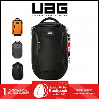 """UAG The Standard Issue 18 Liter backpack - Fit 16"""" Laptop and Weather resistant materials - Black ( Barcode : 812451037678 )"""