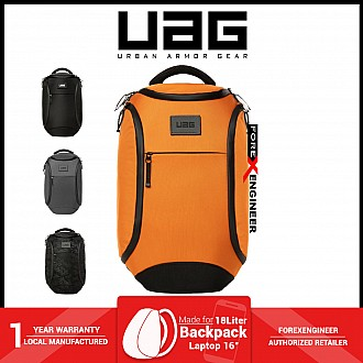"""UAG The Standard Issue 18 Liter backpack - Fit 16"""" Laptop and Weather resistant materials - Orange ( Barcode : 812451037692 )"""