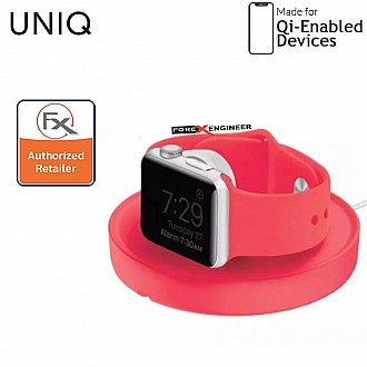 UNIQ Dome Charging Dock for Apple Watch -  with dual stand mode - Pink ( Barcode : 8886463663400 )
