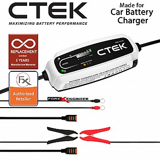 CT5 TIME TO GO UK (5.0 A) 12V - Smart Battery Charger (Petrol/Diesel) (Barcode: 7340103401629)