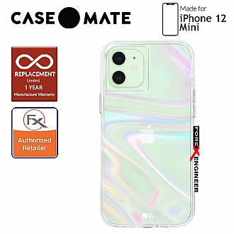 """Case Mate Soap Bubble with MicroPel for iPhone 12 Mini 5G 5.4"""" (Barcode: 846127196499)"""