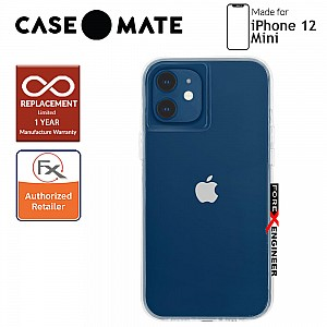 """Case Mate Tough Clear for iPhone 12 Mini 5G 5.4"""" - Clear with MicroPel (Barcode: 846127196512)"""