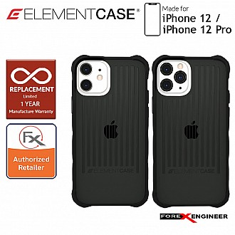 """Element Case Special Ops for iPhone 12 / 12 Pro 5G 6.1"""" - Black Colour (Barcode : 810046111475)"""