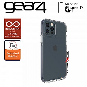 """Gear4 Piccadilly for iPhone 12 Mini 5G 5.4"""" - D30 Material Technology - Blue (Barcode : 840056127913)"""