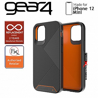 """Gear4 Battersea for iPhone 12 Mini 5G 5.4""""- D3O Material Technology - Drop Resistant Up to 5 meters - Black (Barcode : 840056127920)"""
