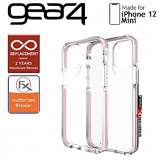 """Gear4 Piccadilly for iPhone 12 Mini 5G 5.4"""" - D30 Material Technology - Rose Gold (Barcode : 840056129146)"""
