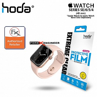 Hoda Extreme Protective Film for Apple Watch 40mm (2PCS) (Compatible with Series 4 / 5 / 6 / SE) - Clear (Barcode : 4713381519189)
