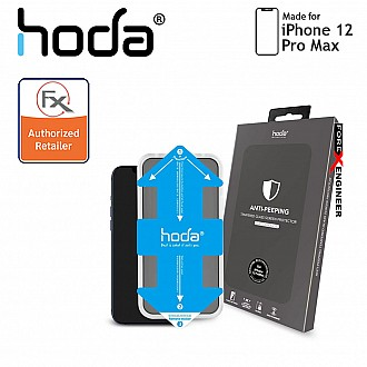 """Hoda Tempered Glass for iPhone 12 Pro Max 5G 6.7"""" - Anti Peeper (Barcode : 4713381519233)"""