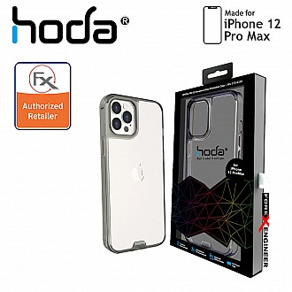 """Hoda Crystal Pro Glass for iPhone 12 Pro Max 5G 6.7"""" - Clear Black (Barcode : 4713381519981)"""