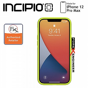 """Incipio Duo for iPhone 12 Pro Max 5G 6.7"""" - Gray/Volt Green  (Barcode : 191058118226)"""