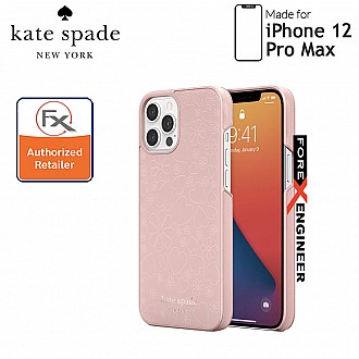 """Kate Spade Wrap for iPhone 12 Pro Max 5G 6.7"""" - Clover Heart Pale Vellum (Barcode : 191058123572)"""