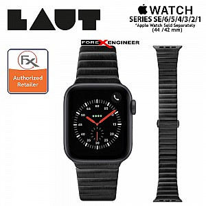 Laut Links Strap for Apple Watch Series 1 to 6 / SE (42mm/44mm) Black (Barcode : 4895206916622)