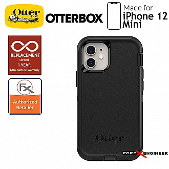 """Otterbox Defender for iPhone 12 Mini 5G 5.4"""" - Black (Barcode : 840104215159)"""