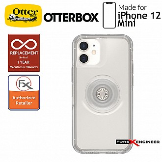"""Otterbox Otter + Pop Symmetry for iPhone 12 Mini 5G 5.4"""" - Clear (Barcode : 840104219836)"""