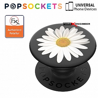 PopSockets Swappable - White Daisy (Barcode: 842978139654)
