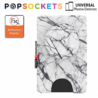 PopSockets PopWallet+ - Dove White Marble (Barcode: 842978171289)