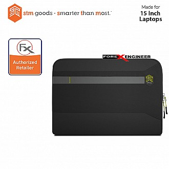 STM Summary Laptop Sleeves 15 inch - Black (Barcode : 640947795227)