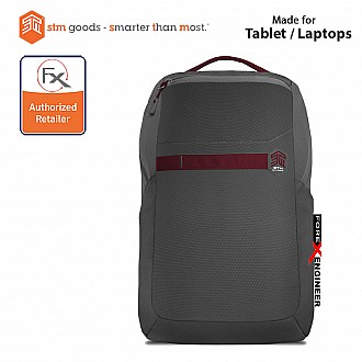 STM Saga Laptop Backpack 15 inch - Granite Gray (Barcode : 640947795302)