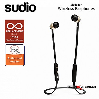 Sudio VASA BLÄ Bluetooth Earphones - Black ( Barcode : 7350071380529)