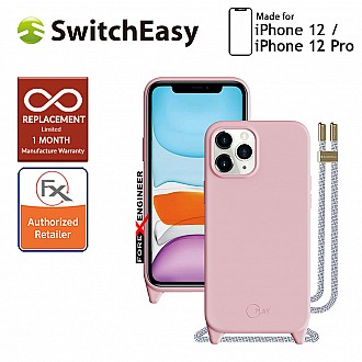 """SwitchEasy Play for iPhone 12 / 12 Pro 5G 6.1"""" - Baby Pink (Barcode : 4897094566613)"""