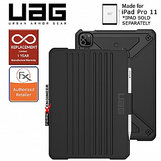 "UAG Metropolis for iPad Pro 11"" / Air 10.9 inch ( 3rd / 4th Gen ) ( 2021 ) Case - Black (Barcode : 810070361068 )"