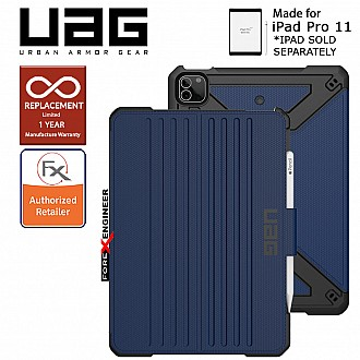 "UAG Metropolis for iPad Pro 11"" / Air 10.9 inch ( 3rd / 4th Gen ) ( 2021 ) Case - Cobalt ( Barcode : 810070361075 )"