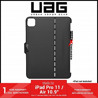 """UAG Scout for iPad Pro 11"""" ( 3rd / 2nd / 1st Gen ) ( 2021 - 2018 ) / iPad Air 10.9"""" ( 4th Gen ) - Black (Barcode: 810070361129 )"""