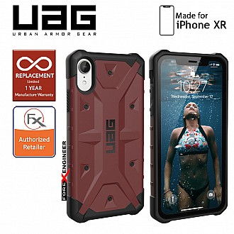 UAG Pathfinder for iPhone XR - Feather Light Rugged & Military Drop Tested - Carmine (Barcode : 812451030426)
