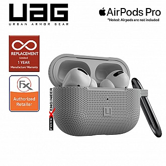 UAG [U] Silicone Case for Airpods Pro - Grey (Barcode : 812451036374)
