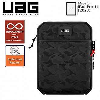 "UAG Shock Sleeve Lite for iPad Pro 11"" - Black Midnight Camo (Barcode : 812451037791)"