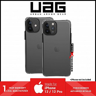 UAG Plyo for iPhone 12 / 12 Pro 6.1 5G Case - Clear Ice (Barcode: 812451039870 )